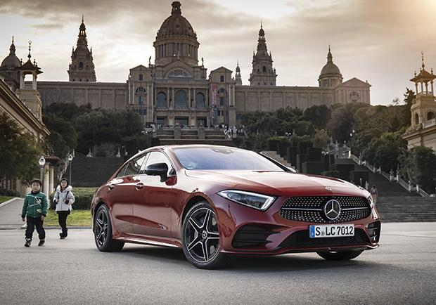 Nuova Mercedes CLS 3