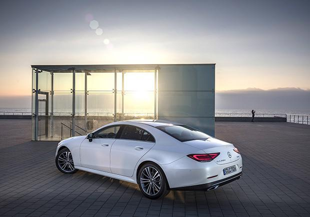 Nuova Mercedes CLS 9