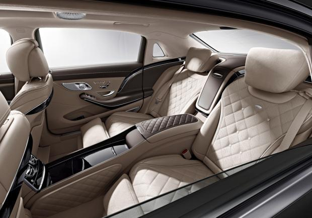 Nuova Mercedes-Maybach S 600 interni