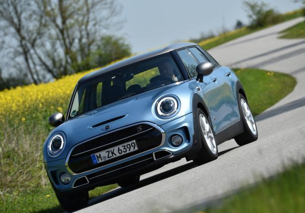 Nuova Mini Clubman ALL4 tre quarti