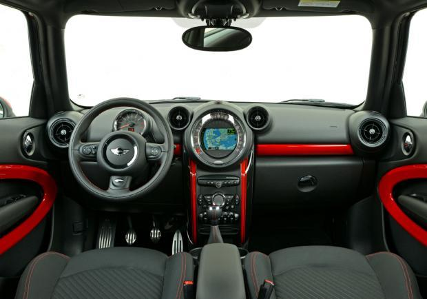 Nuova Mini Paceman restyling 2014 interni