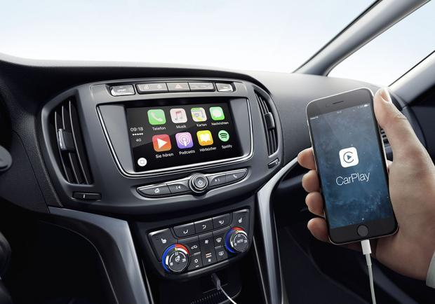 Nuova Opel Zafira 2016 Apple Car Play