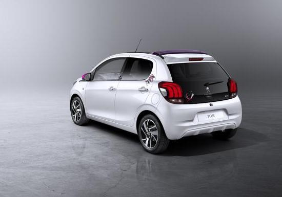 Nuova Peugeot 108 Top! con tema Tattoo