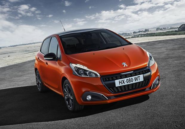 Nuova Peugeot 208 2015 Orange Power