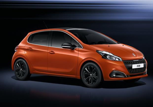 Nuova Peugeot 208 restyling 2015