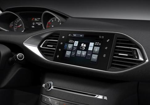 Nuova Peugeot 308 display 9,7