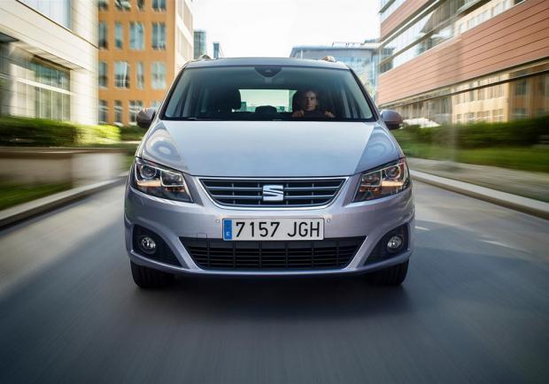 Nuova Seat Alhambra restyling 2015 anteriore