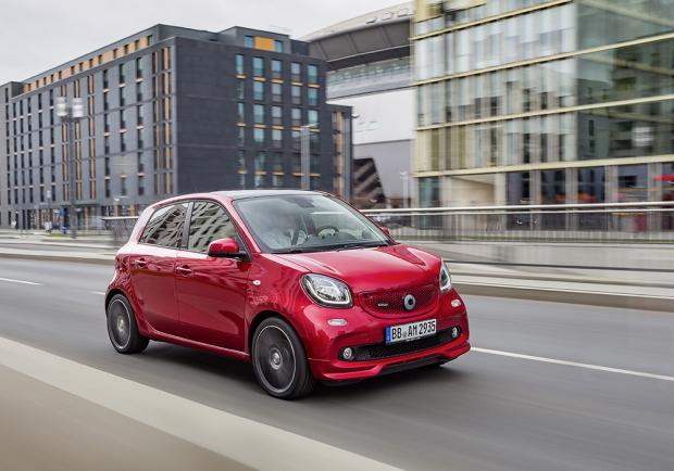 Nuova Smart Brabus Forfour