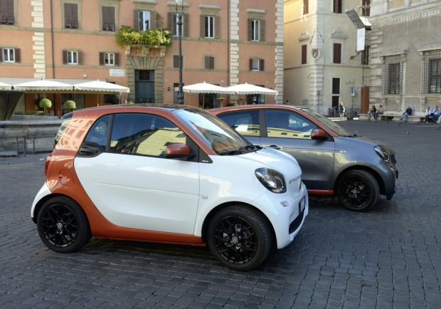 Nuova Smart Fortwo automatic
