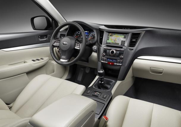 Nuova Subaru Outback my 2013 con display 7
