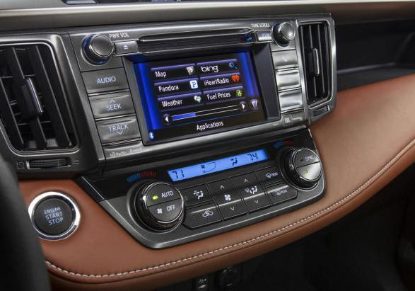 "Nuova Toyota Rav4 display da 6,1"" touch screen"