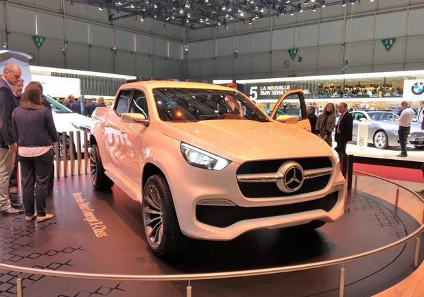 Nuovo Pick up Mercedes