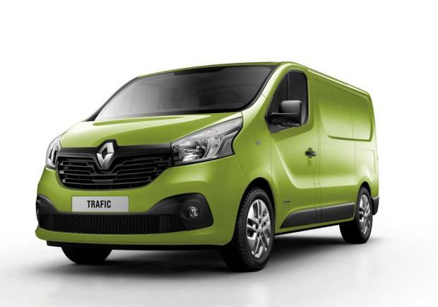 Nuovo Renault Trafic Verde Bambou