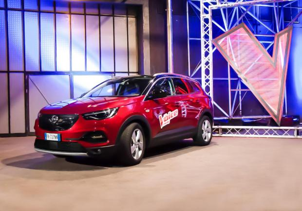 Opel, partner di the Voice of Italy 2019