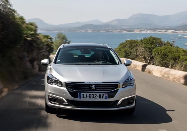 Peugeot 508 SW restyling anteriore