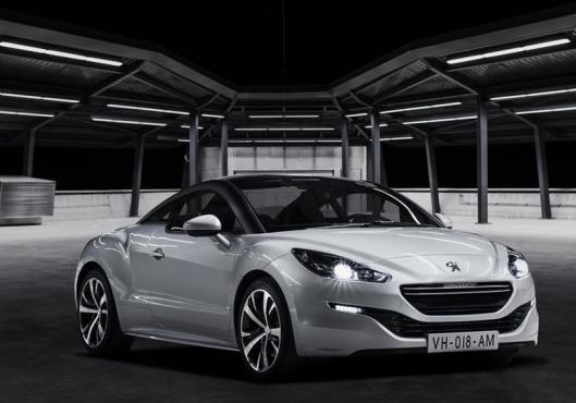 Peugeot RCZ restyling 2013 anteriore