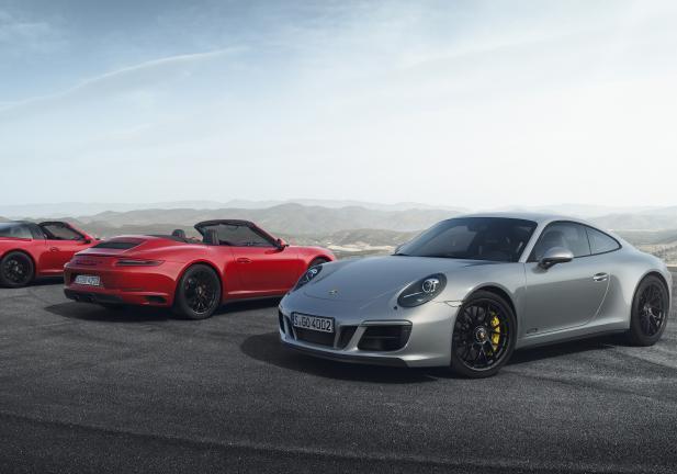 Porsche 911 GTS gamma 2017