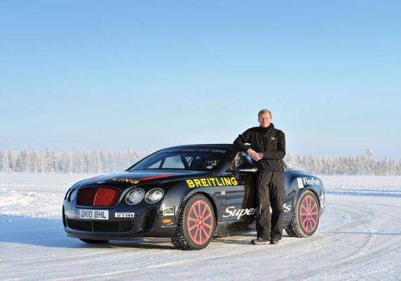 Power on Ice 2013 Bentley Continental GT