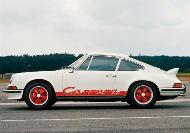 Prossime tappe Italian Tour Porsche 911 Carrera RS 2.7 Coup�