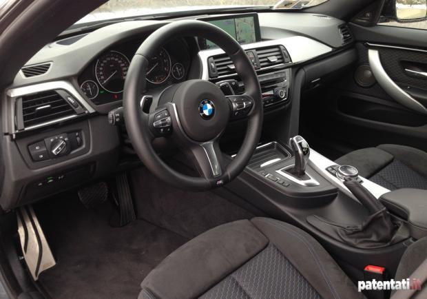 Prova BMW 420d Gran Coupé interni