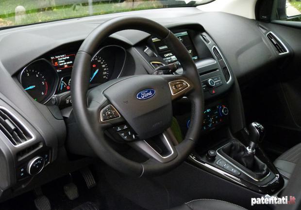 ford focus wagon 1 5 tdci 120 cv  la prova su strada