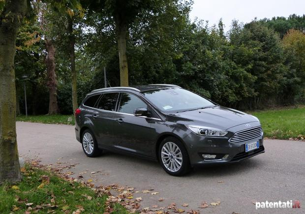 Prova Ford Focus Wagon 1.5 TDCi 120 CV