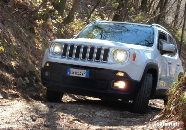 Prova Jeep Renegade 1.6 Multijet