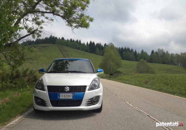 Prova Suzuki Swift Sport GSX-RR Tribute