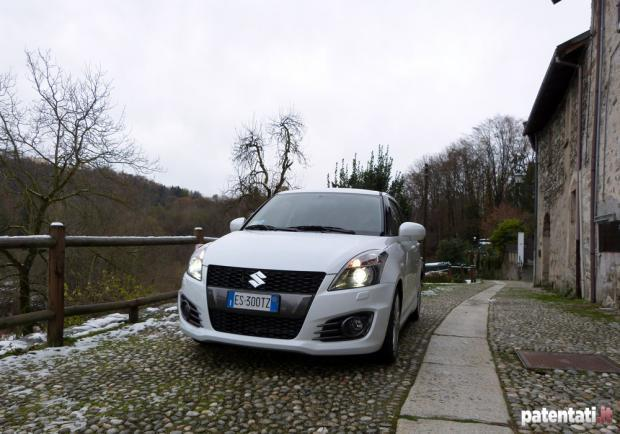 Prova Suzuki Swift Sport