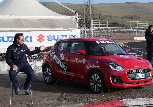 Rally Italia Talent, una Suzuki Swift Sport per i diversamente abili 02