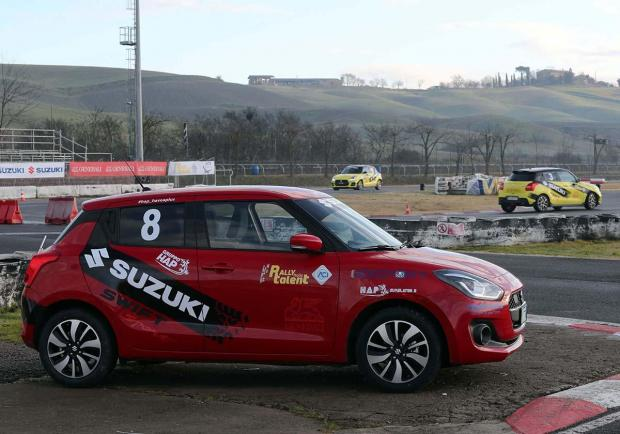 Rally Italia Talent, una Suzuki Swift Sport per i diversamente abili 06