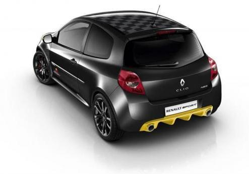 Renault Clio RS Red Bull Racing RB7 2