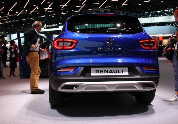 Renault, la SUV Kadjar si rinnova - Patentati