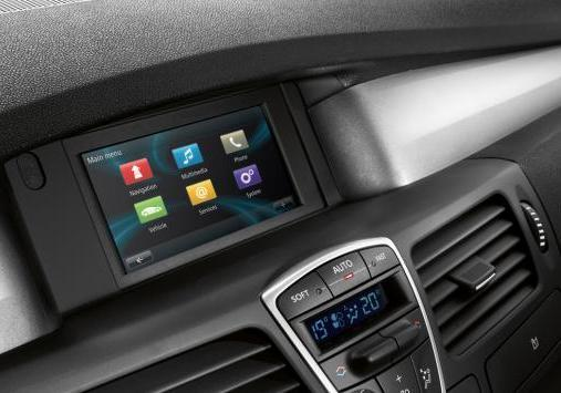 Renault Laguna my 2013 display touch screen