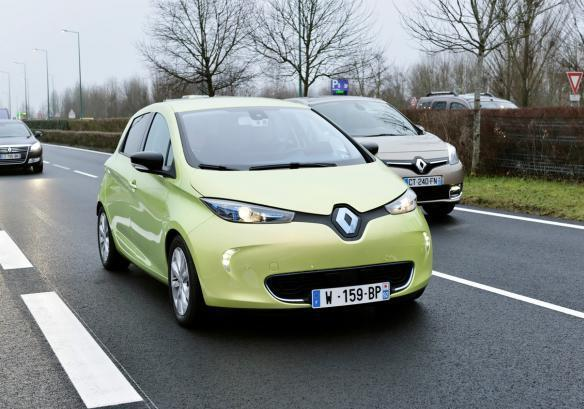 Renault Next Two tre quarti anteriore