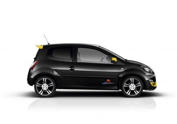Renault Twingo RS Red Bull Racing RB7 laterale