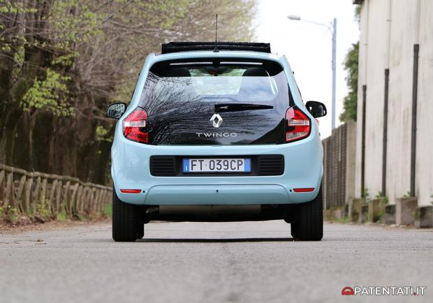 Renault Twingo TCe 90 GPL posteriore