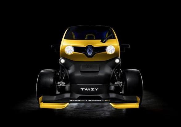 Renault Twizy RS F1 anteriore