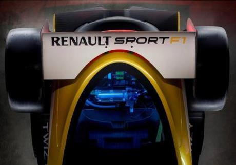 Renault Twizy RS F1 dall'alto