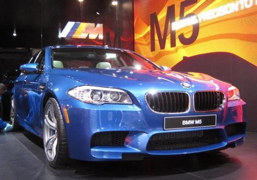 Salone di Detroit 2012 BMW M5