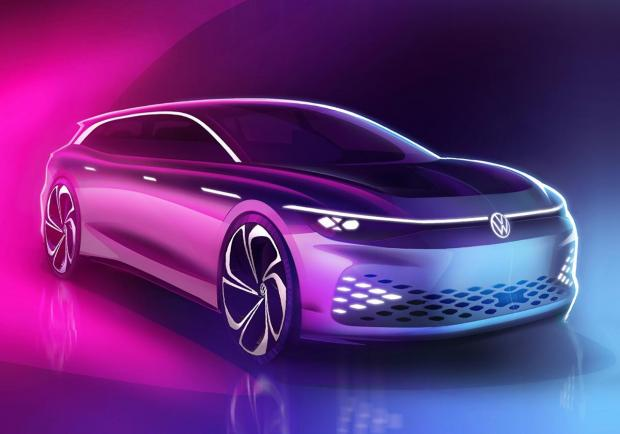 Salone di Los Angeles, Volkswagen presenta la ID. Space Vizzion 01