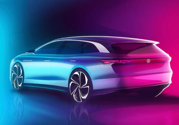 Salone di Los Angeles, Volkswagen presenta la ID. Space Vizzion 02