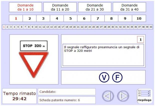 quiz patente b 2014