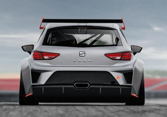 Seat Leon Cup Racer posteriore