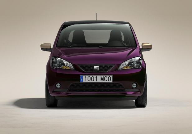 Seat Mii by Cosmopolitan frontale