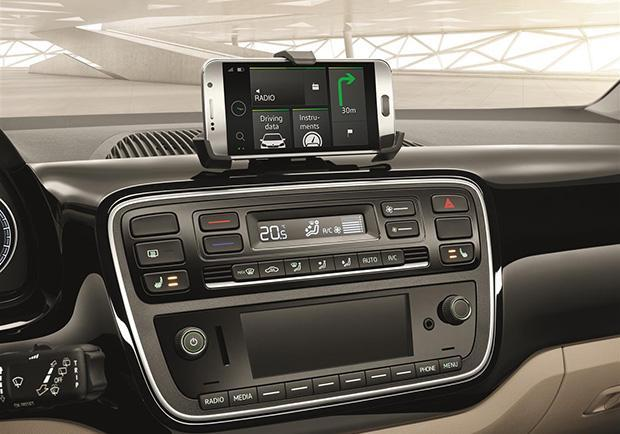 Skoda Citigo Design Edition supporto per smartphone