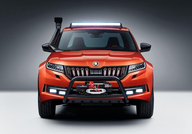 Skoda Mountiaq, la Kodiaq diventa pick-up 01