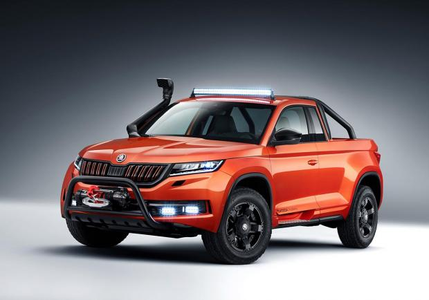 Skoda Mountiaq, la Kodiaq diventa pick-up 03