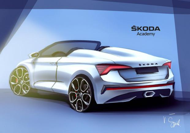Skoda: la nuova concept car? Una Spider su base Scala 01