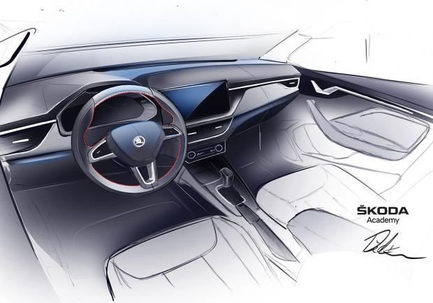 Skoda: la nuova concept car? Una Spider su base Scala 02